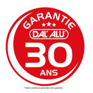 Garantie 30 ans DAL'ALU