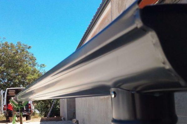 Pose de gouttière évolution en aluminium DAL'ALU