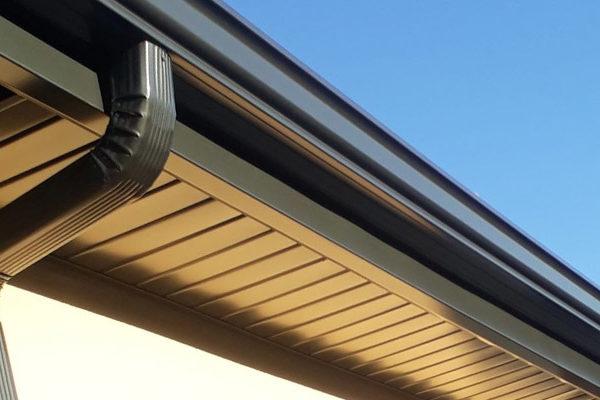 Rénovation des dessous de toit en aluminium